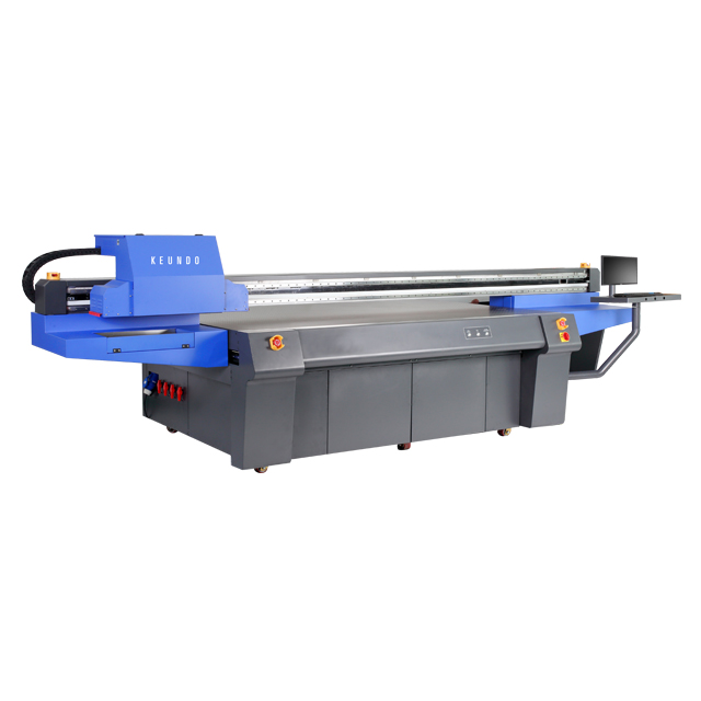 HQ-2513 2500mm*1300mm LED UV Flatbed Printer With Ricoh GEN5 Print Heads
